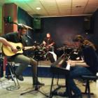 Bandtraining in der Frankfurter Musikschule Bandschmiede