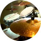 Schlagzeugunterricht in der Frankfurter Musikschule Bandschmiede