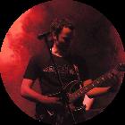 Gitarrenlehrer der Bandschmiede Christian Herrle auf großer Bühne
