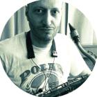 Saxophonlehrer Savas Beyrak mit Sax