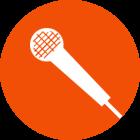 Mikrofon der Frankfurter Musikschule Bandschmiede