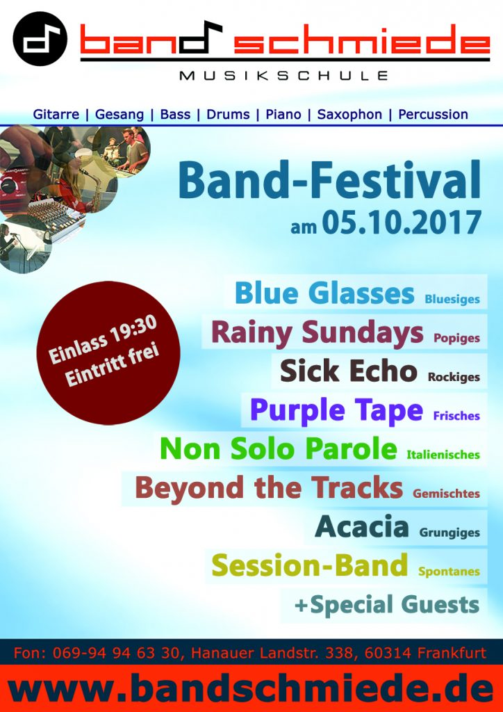 Einladung zum Musikschul-Festival