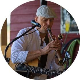 Saxophon-, Gitarren- und Gesangslehrer Ralf Olbrich